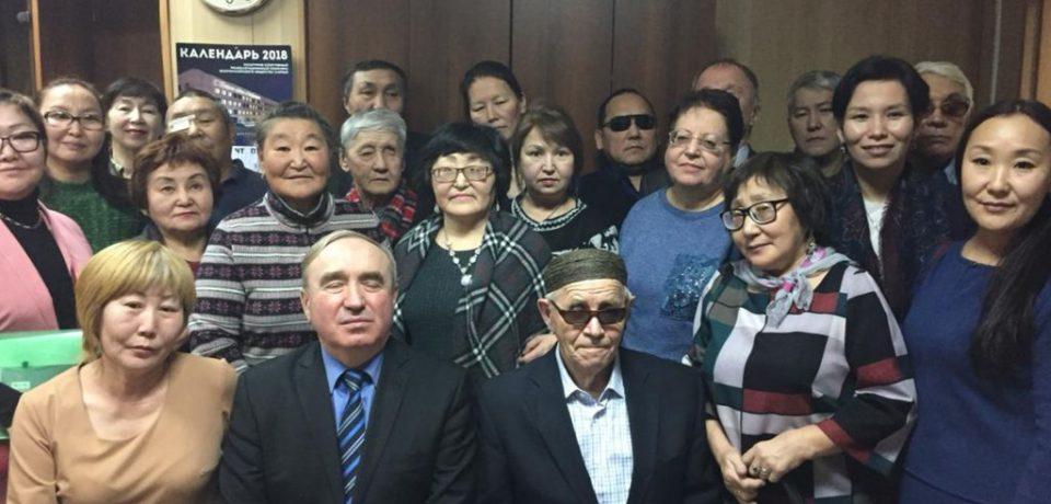 Вице-президент ВОС В. В. Сипкин принял участие во внеочередной отчётно-выборной конференции в Якутской региональной организации ВОС